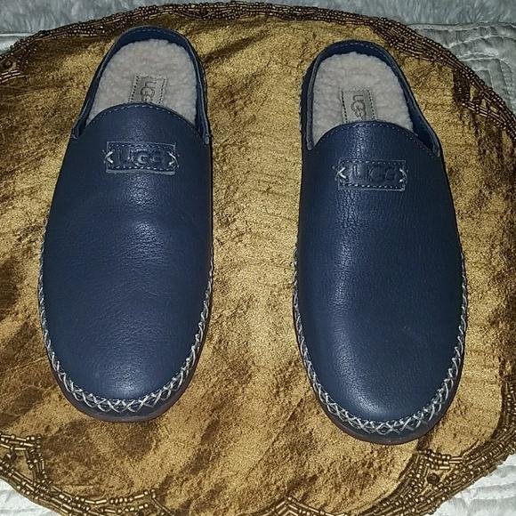 3c01532a708 UGG Women Tamara UGGpure Leather Slippers